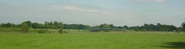 M6 motorway south of Holmes Chapel