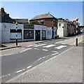 SW4730 : Zebra crossing, St Clare Street, Penzance by Jaggery
