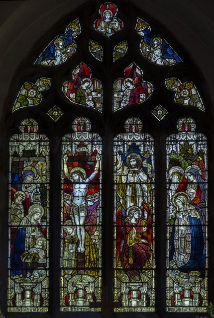 East window,  St Michael and All Angels church, Billinghay