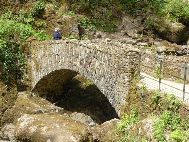 Lower bridge at Aira Force