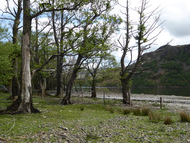 The Aira Beck flows into Ullswater