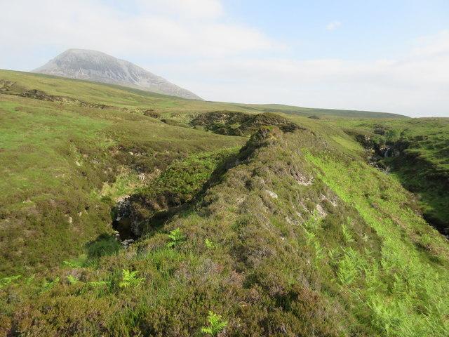Streams and moorland on Jura