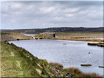 SD9620 : The Northern End of Light Hazzles Reservoir by David Dixon
