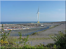 NT3698 : ORE Catapult - the Levenmouth Turbine by Richard Law