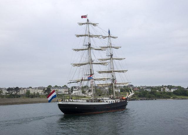 Tall Ship 'Mercedes' at Bangor