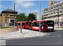 SU4112 : Wyndham Place buses, Southampton by Jaggery