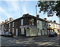 SJ8744 : Stoke-on-Trent: junction of Munro Street and London Road, West End by Jonathan Hutchins