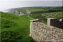 SS8872 : View from Dunraven Castle by Stephen McKay