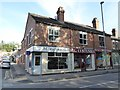 SJ8744 : Stoke-on-Trent: shops on the corner of Penkville Street and London Road by Jonathan Hutchins