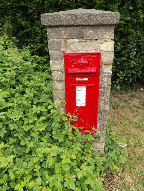 Stowupland Road George V Postbox