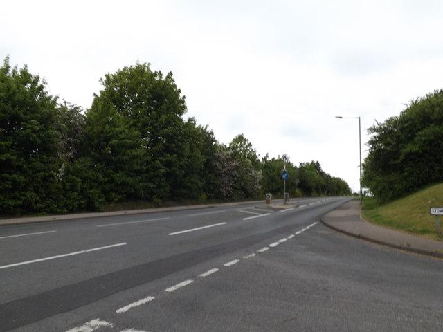 B1115 Stowupland Road, Stowmarket