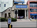 SW4730 : Wharf Road entrance to Wharfside Shopping Centre, Penzance by Jaggery