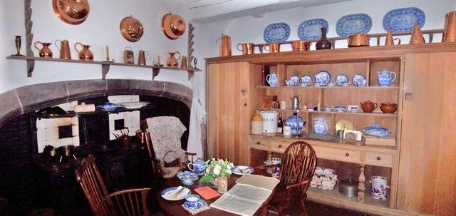 The Kitchen, Lindisfarne Castle