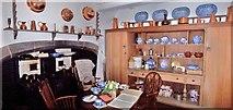NU1341 : The Kitchen, Lindisfarne Castle by Len Williams