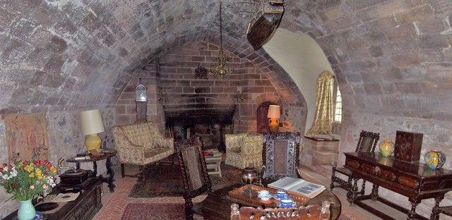 The Ship Room, Lindisfarne Castle