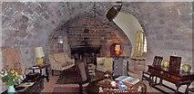 NU1341 : The Ship Room, Lindisfarne Castle by Len Williams