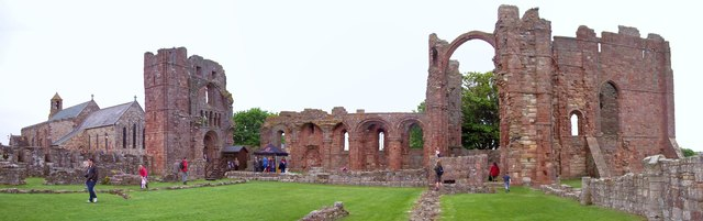 Ruins of Lindisfarne Priory