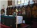 SU9272 : St Peter, Cranbourne: altar by Basher Eyre