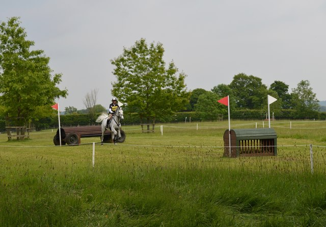 Brand Hall Horse Trials: cross-country obstacles