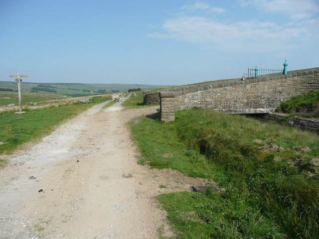 The Pennine Bridleway at Gorple Cottages, Heptonstall