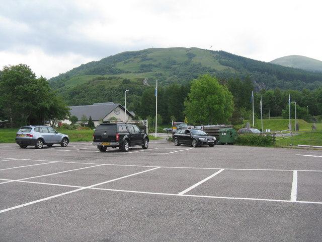 Car park at Ballachulish
