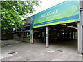 ST4770 : Northern entrance to  Crown Glass Shopping Centre, Nailsea by Jaggery