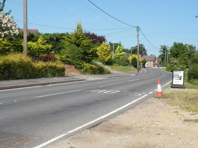 Part of Halstead Road