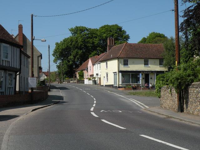Swan Street; the A1017