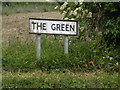 TL9761 : The Green sign by Adrian Cable