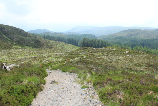 Trail to Cornish Loch