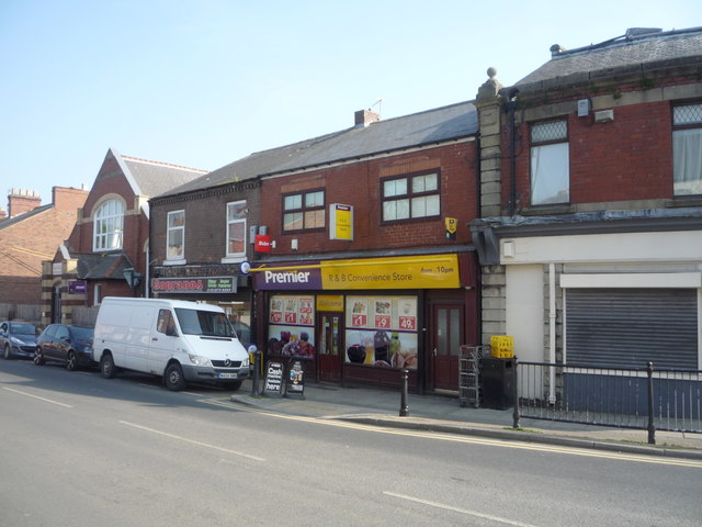 Convenience store, Ushaw Moor