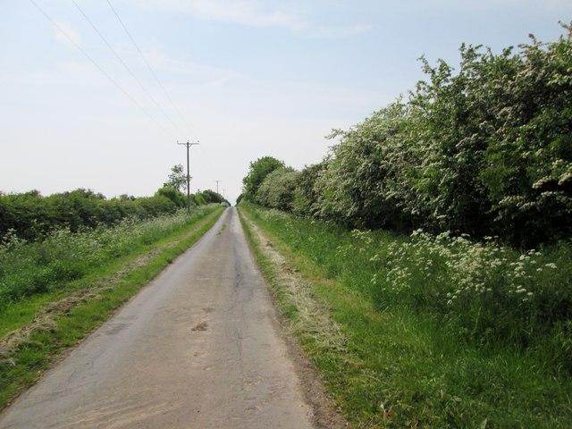 Carr  Lane  toward  Carr  House  Farm