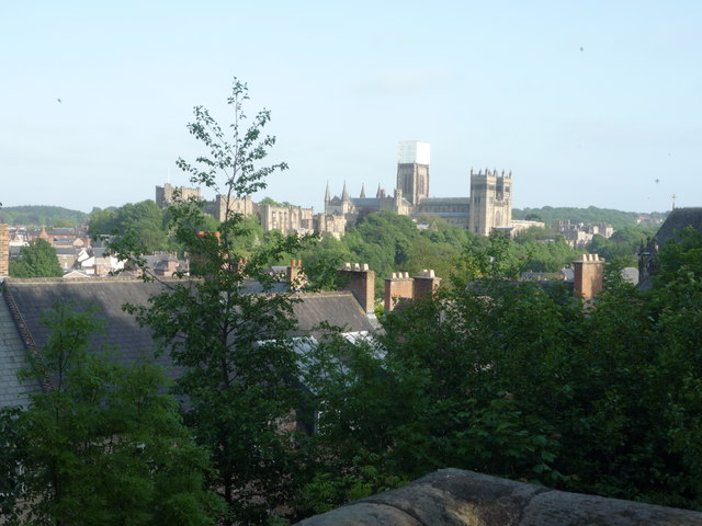 View towards Durham Cathedral