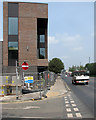 SK5738 : London Road and the new Nottingham Fire Station by John Sutton