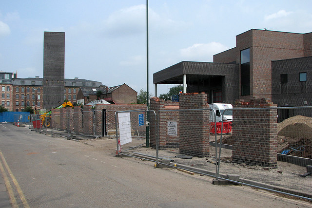 Wallet Street: building the new fire station