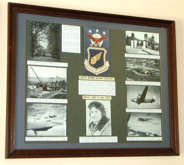 Holy Trinity church - RAF Rackheath museum room