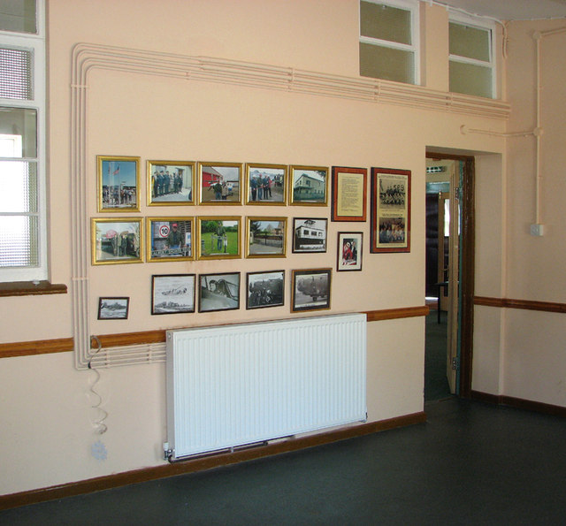 Holy Trinity church - RAF Rackheath museum room
