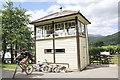 SH6918 : Penmaenpool Signal Box by Jeff Buck