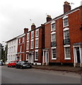 SO9545 : Three-storey houses on the west side of Bridge Street, Pershore by Jaggery