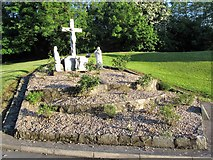 H8744 : Calvary in the grounds of St Malachy's Chapel, Armagh by Eric Jones