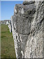 NB2133 : One of the Callanish stones by M J Richardson