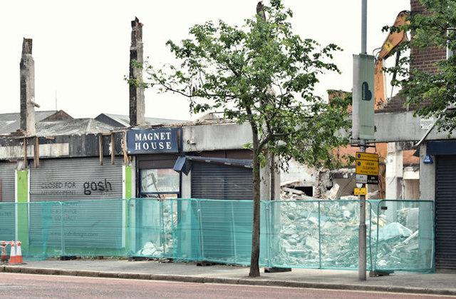Magnet House (demolition), Belfast - June 2016(4)