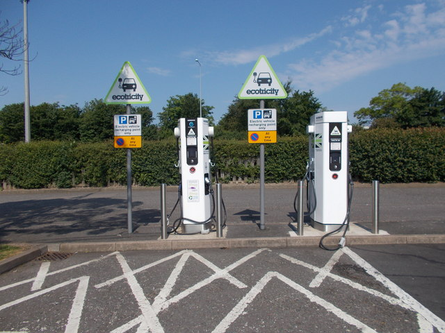 Trowell Services - Electric Vehicle Charging Points
