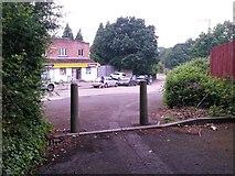 SZ0795 : East Howe: footpath E30 from Merryfield Lane by Chris Downer