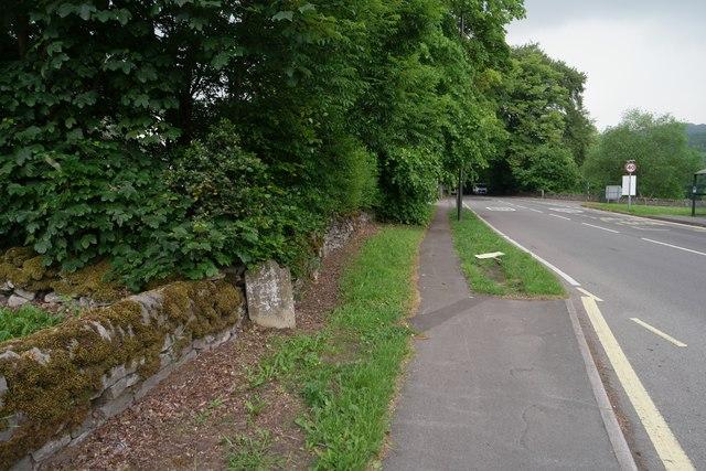 The road to Stoney Middleton