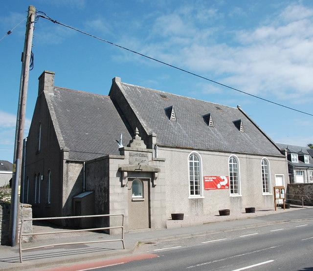 Oldmeldrum parish hall