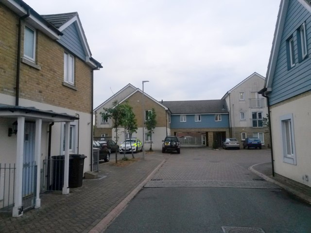 Northbourne: interesting social housing in Etches Close