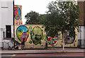 TQ2883 : Street art, Camden Town by Julian Osley