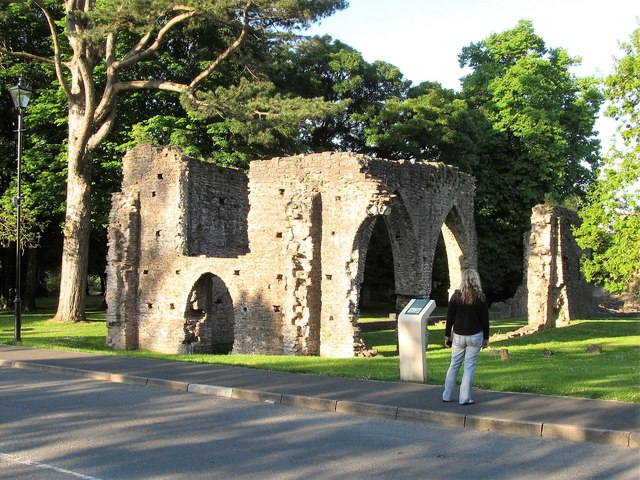 The ruins of Armagh's Franciscan Friary