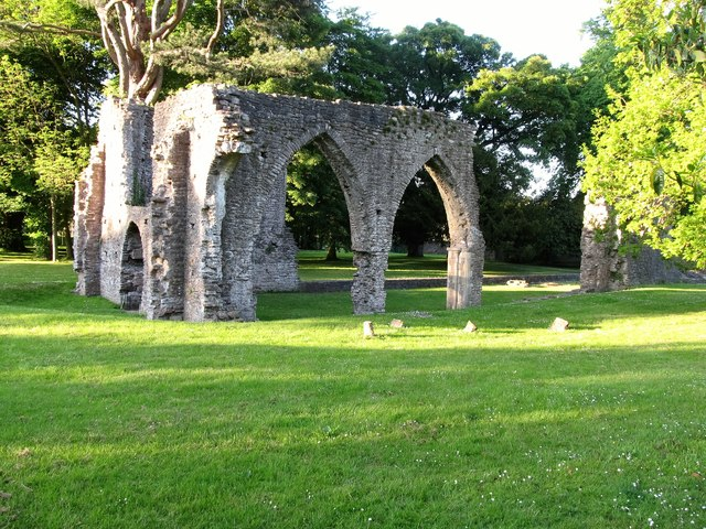 The chancel of Armagh's Franciscan Friary